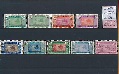 LO18784 Mauritania 1928 A.O.F. views landscapes fine lot MH cv 32 EUR