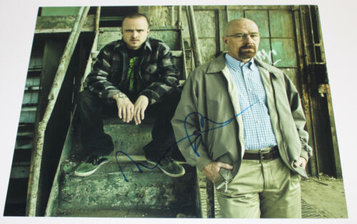 AARON PAUL SIGNED AUTHENTIC 'BREAKING BAD' JESSE PINKMAN 11x14 PHOTO w/COA PROOF