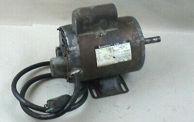 Westinghouse 34 Hp 1 Phase Motor For Lathe