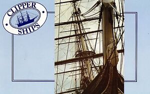 1984 Clipper Ships Set Of 4 Stamp Pack, Mint Condition, Unopened