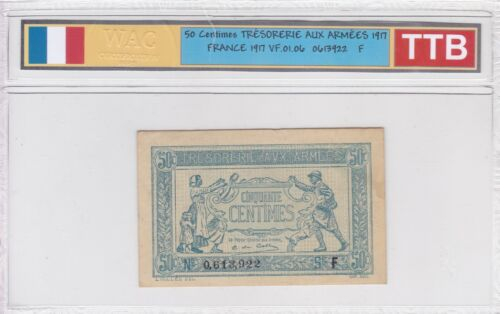 Ticket From 50 Cents Cash Of Armies 1917 Ttb