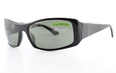 PERSOL Sonnenbrille 2838-S 95/58 60[]17 125 Polarized Square Sunglasses Black CE