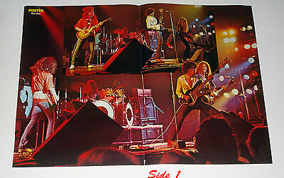 1976 Phil Lynott & Thin Lizzy Poster 16x23 from Finland Magazine Never been Hung