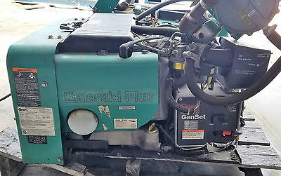 Onan 6.5 Kw Emerald Plus 6500 120v 1ph Propane Or Gasoline Generator Wtank