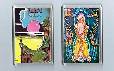 Magnets x 2 : HAWKWIND Warrior on the edge of time / Space Ritual