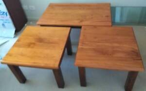 3-Piece Matching Pine Large Heavy Nablex Coffee Tables Coomera Gold Coast North Preview