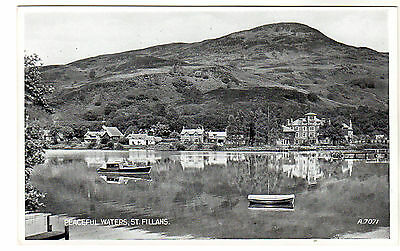 St Fillans - Photo Postcard c1940s / Crieff