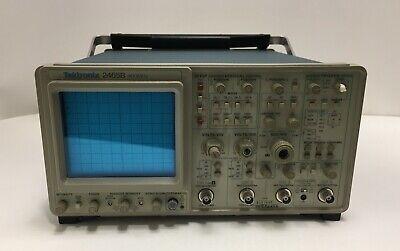 Tektronix 2465bct 400mhz Oscilloscope Options 06 And 22
