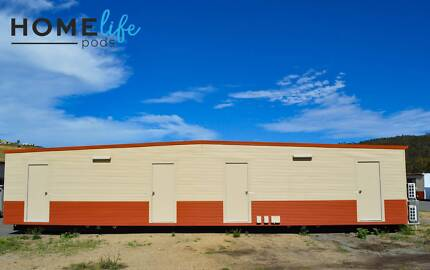 15m transportable building - 4 bedrooms all with ensuites