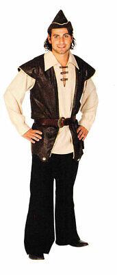 Robin Hood Kostüm Herren König der Diebe Mittelalter - Robin Hood Herren Kostüm