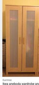 Ikea aneboda wardrobe for sale in Hengoed, Caerphilly