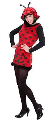 Marienkäfer Kostüm Damen sexy Käfer Glückskäfer mit Mütze Tierkostüm Fasching - Glück Sexy Kostüm