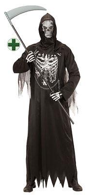 Sensenmann Kostüm Skelett für Kinder Der Tod mit - Der Sensenmann Halloween Kostüm
