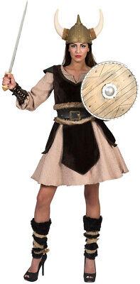 Wikinger Kostüm Damen Vikings Nordmann Barbarin Damenkostüm Fasching - Wikinger Mann Kostüme
