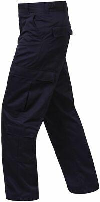 9 Pocket Emt Pant (Midnite DARK Blue ROTHCO 7801 Men 9 Pocket Tactical EMS EMT Medic Uniform Pants )
