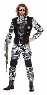 Soldaten Kostüm Herren Militär Armee Uniform Herrenkostüm Fasching - Herren Uniform Kostüme