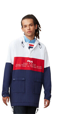 Fila Peacoat/White-Chinese Red Onassis Woven Jacket