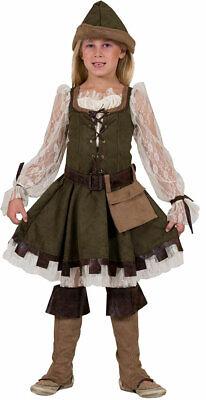 Robin Hood Kostüm Kinder Mädchen Lady Marian Karneval - Lady Marian Kostüme