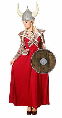 Wikinger Königin Kostüm Damen Nordmann Viking Damenkostüm Fasching Karneval KK