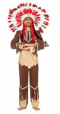 Indianerkostüm Herren Häuptling Cherokee Western Herrenkostüm Karneval - Cherokee Kostüme