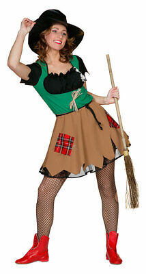 Vogelscheuche Kostüm Damen sexy Kleid Märchen Scarecrow Fasching - Sexy Märchen Kostüme