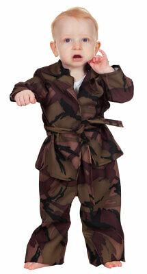 Soldat Kostüm Soldatenkostüm Kinder Baby Camouflage Tarnanzug Militär Armee KK