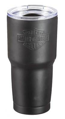 Harley-Davidson Embossed B&S Stainless Steel Travel Cup, 24 oz. 3SSB4900