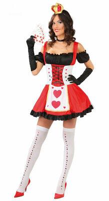 Herzkönigin Kostüm Damen sexy Herzdame Alice im Wunderland - Schwarz Alice Im Wunderland Kostüme