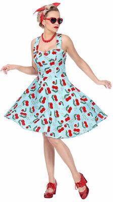 50er Jahre Kostüm Damen Rockabilly-Kleid Frauen Rock n - 50er Jahre Frauen