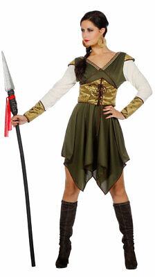 Robin Hood Kostüm Damen Lady Marian Bogenschützin Mittelalter - Lady Marian Kostüme