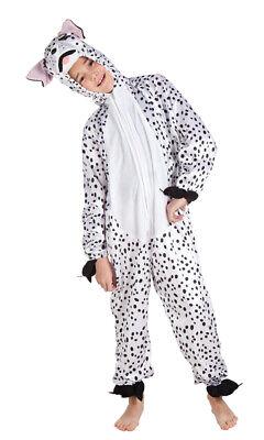 Dalmatiner Kostüm Kinder Plüsch 101 Dalmatiner Overall Tier Hund Kinderkostüm - Kind 101 Dalmatiner Kostüm