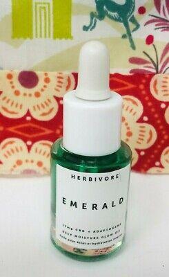 HERBIVORE Emerald Deep Moisture Glow Oil .3oz Deluxe Travel / Mini Size