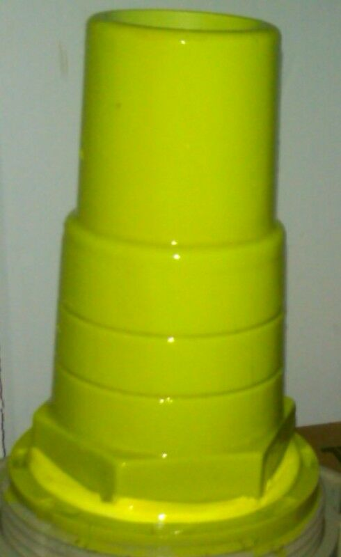 Fluorescent Green Dye for PVC  1/4 oz concentrate  MAKES 30 OUNCES STAIN