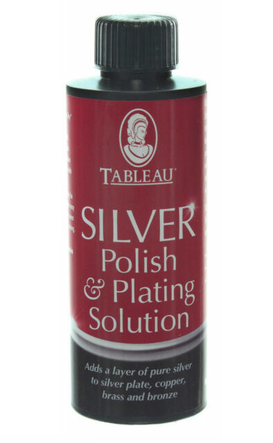Tableau Silver Plating Solution 110ml. Adds Pure Silver