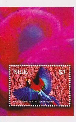 NIUE - BIRDS, 2004 - SC 785 S/S MNH
