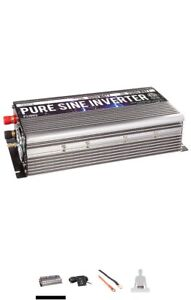 Power TechON 1000W Pure Sine Wave Inverter 12V DC to 120V