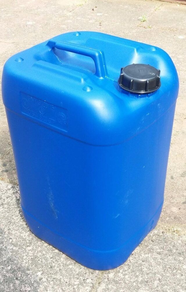 25L Litre Plastic Water Storage Container Petrol Jerry Can Fuel Jerrycans