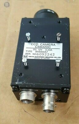 (TOKYO ELECTRONIC CS8320C BV6400A7 CCD CAMERA ((R1S2.8B4)))
