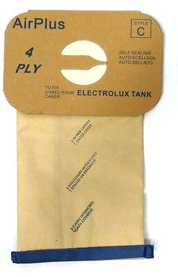 24 Bags for Electrolux Canister Vacuum Style C ~ 4 Ply