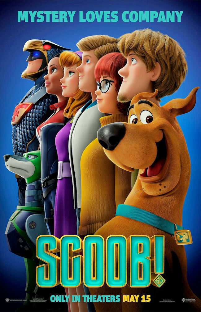Scoob!  Movie Collector's Poster Print  - B2G1F