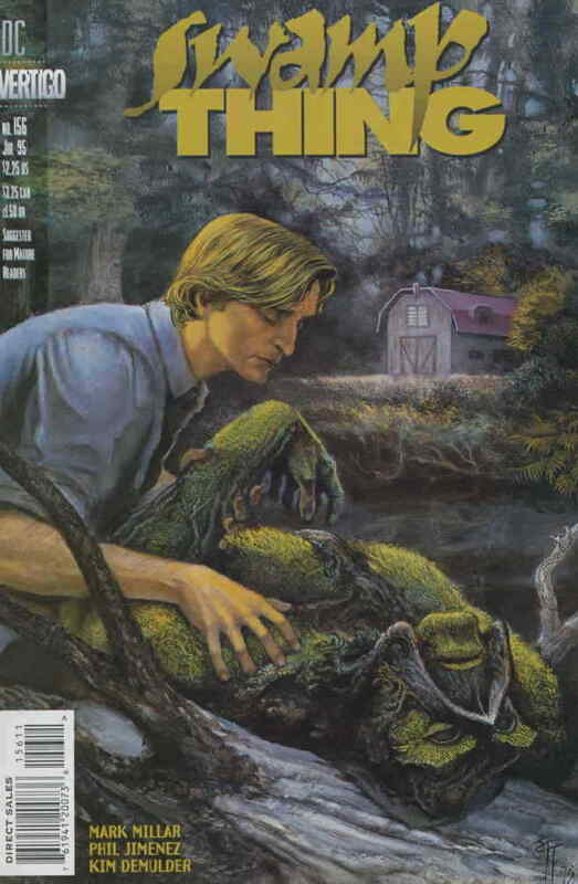 Swamp Thing (2nd Series) #156 VF/NM; DC | save on shipping - details inside