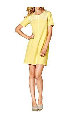ions Kleid pastellgelb Gr. 36 bis 44 A-Linie Sixties Style (Sixties Kleid Bis)