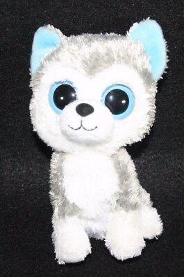 Ty Beanie Boos 6  Slush The Husky Dog Plush Stuffed Animal Puppy