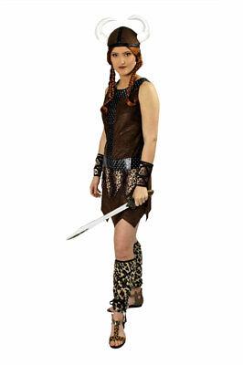 Wikinger Kostüm Damen Nordmann Wikingerhelm Wikingerin Viking Fasching - Wikinger Mann Kostüme