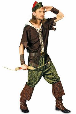 Robin Hood Kostüm Heren Prince of Thieves Erwachene - Robin Hood Herren Kostüm