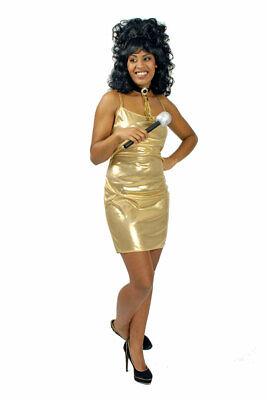 Disco Kostüm Damen sexy 70er Jahre Kleid glänzend - Sexy 70er Jahre Kostüme