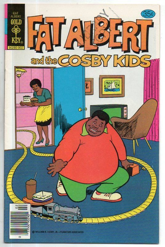 FAT ALBERT & THE COSBY KIDS   29    SCARCE LAST ISSUE