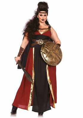 Gladiatorin Kostüm Damen Römische Kriegerin Plus Size Gladiator - Plussize Kostüme