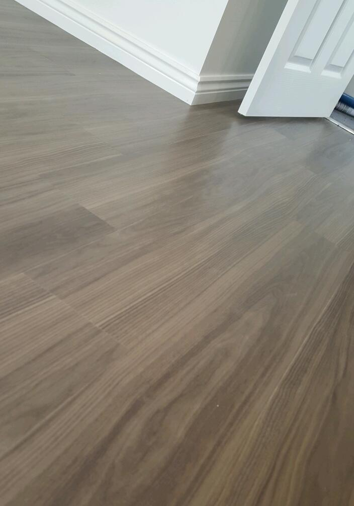 Amtico Spacia Luxury Vinyl Flooring Tiles Dusky Walnut