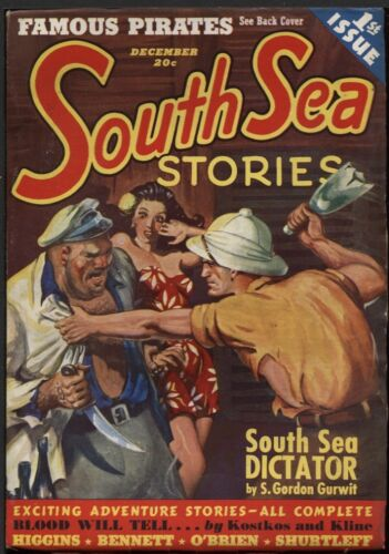 South Sea Stories 1939 December, #1.   Pulp